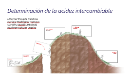 Determinación de la acidez intercambiable