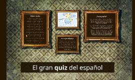 El gran quiz del español