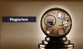 The definition plagiarism
