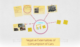 Negative Externalities of Consumption of Cars