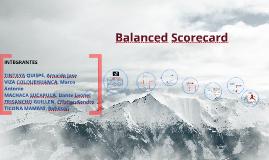 Copy of Balanced Scorecard