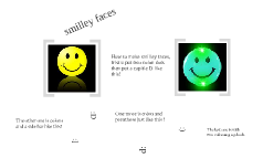 how to make smiley face