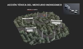 ACCIÓN TÓXICA DEL MERCURIO INORGANICO