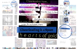 cheerleading is a sport