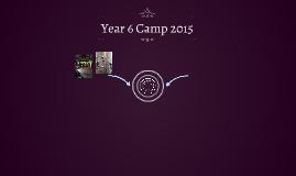 Year 6 Camp 2015