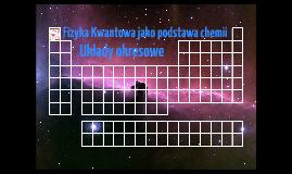Copy of Fizyka Kwantowa