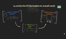 SVS 1341 - Parcours de la recherche d'information en travail social