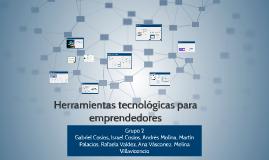 Herramientas tecnológicas para emprendedores