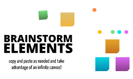 Free Brainstorming Elements by Salu Ylirisku