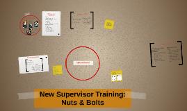 Being a Super Duper Supervisor