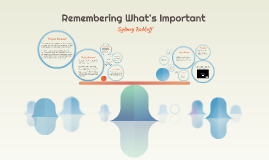 Remembering What's Important