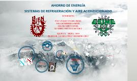 SISTEMAS DE REFRIGERACIÓN Y AIRE ACONDICIONADO