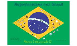 Negociando con Brasil