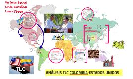 ANÁLISIS TLC COLOMBIA- ESTADOS UNIDOS
