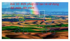 Copy of BÀI 10: Biện pháp cải tạo và sử dụng