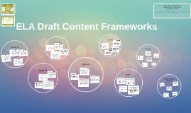 Copy of ELA Draft Content Frameworks