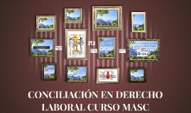 CONCILIACIÓN EN DERECHO LABORAL