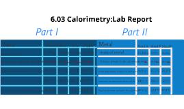 06.03 calorimetry