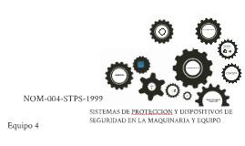 pres NOM 004 -STPS-1999