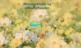 Blomsterbinder/blomsterhandler