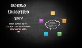 modelo educativo 2017
