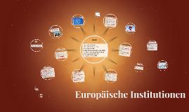 Europäische Institutionen