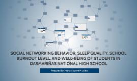 SOCIAL NETWORKING BEHAVIOR, SLEEP QUALITY, SCHOOL