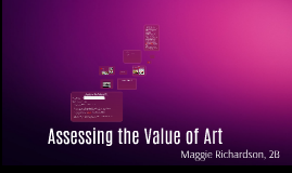 Copy of Assessing the Value of Art