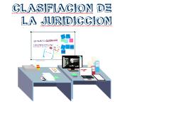 Copy of CLASIFICACION DE LA JURISDICCION