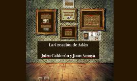 Copy of La Creación de Adán