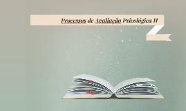 Aula 02. (2018.2) Processos Avaliativos em Psicologia: fundamentos e base epistemológica da medida PAP II UFAL Leogildo Alves