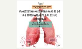 Manifestaciones pulmonares de las enf del tej conect