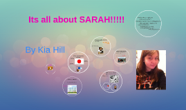 ALL ABOUT SARAH!