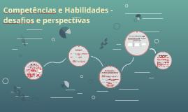 Competências e Habilidades - desafios e perspectivas (Departamento)