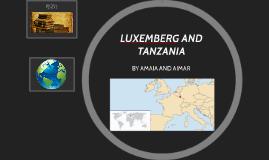 LUXEMBERG AND TANZANIA