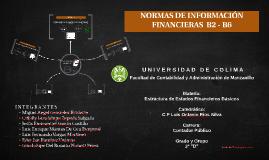 NORMAS DE INFORMACION FINANCIERAS  B2 - B6