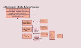 Copy of Definición del Objeto de Intervención