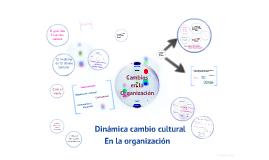 Dinamica Cambio Cultural