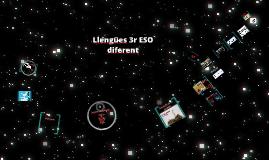 Presentació llengües 3ESO 2016-17