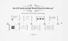 Are U.S. banks too big? Should they be broken up?