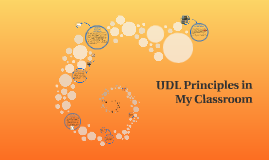 UDL Principles in My Classroom