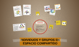 INDIVIDUOS Y GRUPOS EN ESPACIO COMPARTIDO
