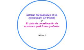 Nuevas modalidades en la concepción del trabajo