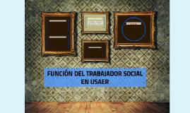 FUNCIÓN DEL TRABAJADOR SOCIAL EN USAER