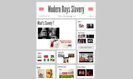 Modern Days Slavery