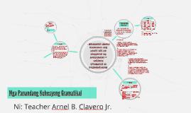 Mga Panandang Kohesyong Gramatikal