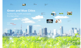 Green and Blue Cities