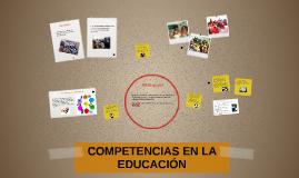 COMPETENCIAS EN LA EDUCACIÓN