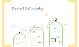 Copy of Harvard Referencing