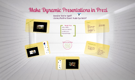 Make Dynamic Presentations in Prezi